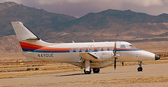 Jetstream 31 N490UE (707-348C) Tags: arizona prop airliner turboprop kingman britishaerospace stored igm propliner jetstream31 kigm n490ue