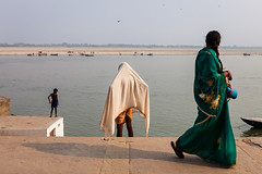 Ghats, Varanasi (Marji Lang Photography) Tags: street travel people india river mood indian streetphotography atmosphere varanasi indians riverbank hindu oldtown kashi soulful oldcity banks ganga ganges ghats banaras benares holycity uttarpradesh travelphotography republicofindia indianpeople ef247028l indiansubcontinent godaulia gowdolia canoneos5dmarkii gaudolia travelanddocumentaryphotography marjilang oldvaranasi