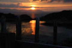 Sunset over Skye from Dry Harbour, Isle of Rona (fooflington) Tags: sunset scotland highlands rona scottishhighlands isleofrona southrona rona2015