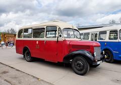 Praga RND bus, based on a military truck (The Adventurous Eye) Tags: bus praga rnd muzea depozit technickho