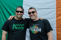 CJ Mills and Frank Daly of American Paddy's Productions
