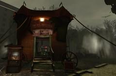 Sideshow (Ricco Saenz) Tags: sl secondlife amusementpark postapocalyptic