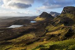 The Quiraing (oilyragg) Tags: sunset mountains skye sunrise scotland rocks isle quiraing