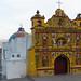 A igreja bizarra de San Andres de Xecul