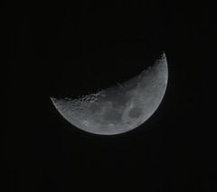 Moon from 24th of April (batzi_s) Tags: sky moon mond space astro