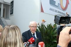 Audiência a Henrique Neto na Sede Nacional