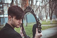 DSC_0826-1 (sabrina_dassen) Tags: boy dog man male fashion tattoo dark fire photography glasses mirror photo spring model sad photoshoot vampire gothic goth style dreams satan kazakhstan aviators mystic taraz mysticdreams innadassen nefformall