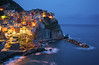 Manarola, Cinque Terre, Liguria, Italia. (pedro lastra) Tags: architeture ligure liguria italy italia cinque terre night time blue magical hour outdoor dusk sea waterfront water landscape cliff cinqueterrenationalpark laspezia unesco worldheritagesite nikond750 nikon d750 photography