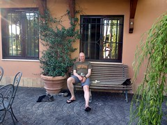 """Me outside Edita's flat in Rome • <a style=""""font-size:0.8em;"""" href=""""http://www.flickr.com/photos/41849531@N04/17588981095/"""" target=""""_blank"""">View on Flickr</a>"""