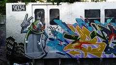 20150514_192432 (bg183tatscru@hotmail.com) Tags: train canvas artists mta 1980 spraycan tatscru southbronx graffititrain bg183 muralkings graffiticanvas bestartists bestgraffiti graffiticanvases bg183tatscru