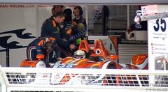 Bertrand Baguette sits in the OAK Racing LMP2 car (Tim R-T-C) Tags: racetrack silverstone motorracing motorsport autosport carracing onthegrid sportscarracing pitgarage lemansprototype sportsprototype bertrandbaguette worldendurancechampionship oakracing fiawec morganlmp2