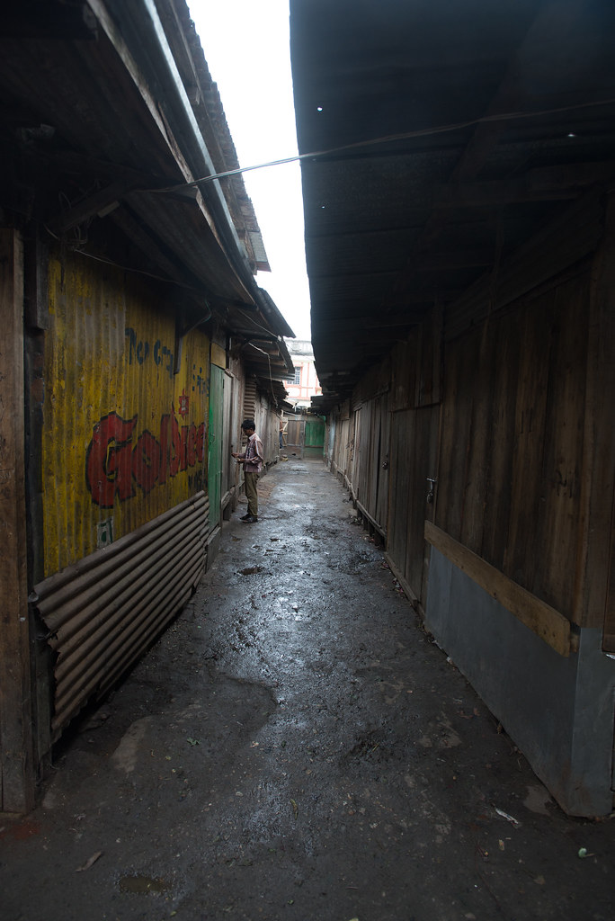 Alleyways in Darjeeling