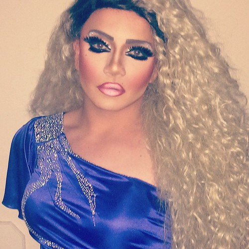 queen #dragqueen #drag #pageant #fish #makeup #hair #blonde #lashes ...