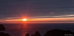 Sunset in Llanes. (C Bouzas) Tags: sunset sea sun landscape asturias llanes 500px ifttt