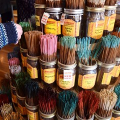(t-nary) Tags: ohio house colors yellow square sticks rainbow nikon display springs crop import scents jars incense wildberry d5300