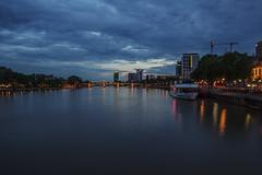 Frankfurt at Eiserner Steg (hbecker1411) Tags: frankfurtmain skyline nachtaufnahme nightshot eiserner steg
