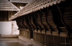 The Traditional Architecture of Kerala (Deepak Anilkumar) Tags: architecture wooden traditional palace padmanabhapuram