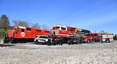 and...... POSE (GLC 392) Tags: railroad ohio rescue heritage car station train truck pose fire day ns 5 norfolk 911 police first railway company southern arbor toledo amtrak national ann oh sheriff department unit officers honoring emd ntd gp38 3879 responders watco wamx sd60e