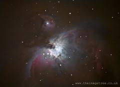 Orion Nebula (Gez_1) Tags: astrophotography m42 astronomy celestron orionnebula deepskystacker nexstar5se canon5dmkii adobephotoshopcs5 registax6
