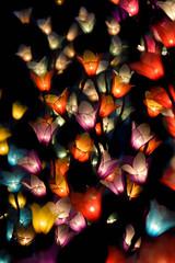 Lampions de Chiang-Mai (Fanchec) Tags: travel asia chiangmai thailande