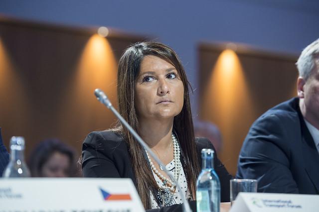 Ana Pereira de Miranda at the Closed Ministerial Session