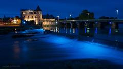 GUIPRY-MESSAC (Michal Gds) Tags: france port french landscape brittany bretagne pont paysage extrieur nuit digue illeetvilaine poselongue nikond810 nuitetlumire guiprymessac miinoterie