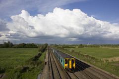 Train and clouds (Dai Lygad) Tags: camera railroad travel blue sky panorama cloud white weather southwales wales clouds train canon skyscape geotagged photography eos evening photo moving flickr br image diesel transport may picture rail railway trains photograph website newport creativecommons vista britishrail resource railroads stockphoto arriva marshfield sprinter 2016 passengertrain 500d arrivatrains dmu stockimage atw attributionlicense freetouse arrivatrainswales class150 attributionlicence 150278 southwalesmainline 22may2016 manchestertocardiff newporttocardiff