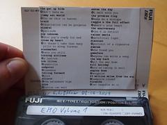 A. found this... (schroettner) Tags: fuji emo mixtape tape kassette emorock