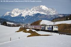 "Br.139.255- D 13189 ""Schnee-Express"" (Tosatto Lorenzo) Tags: zug skii express lok obb sonderzug lokomotion euroexpress br139 giselabahn"