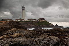 Pigeon Point (Tom Yamamoto) Tags: ocean california light lighthouse pacific pigeonpoint pescadero