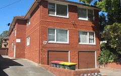 1/17 Hillard Street, Wiley Park NSW