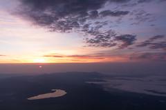 IMG_4744-Pano20160612 (Zac Li Kao) Tags: mountain japan sunrise canon dawn volcano fuji hiking hike powershot climbing crater fujisan g1x