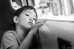 My love (larbinos) Tags: portrait blackandwhite black france pentax asie enfant tramway k5 asiatique vitnam albin larbinos