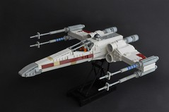 T-65 X wing (2) (Inthert) Tags: star starwars fighter ship lego luke r2d2 xwing wars skywalker moc t65 sfoils