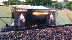 Paul McCartney in Munich. (joseph_donnelly) Tags: munich mnchen concert tour live crowd olympicstadium mccartney paulmccartney iphone oneonone iphone6
