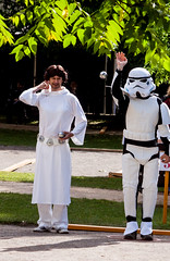 Boules in Bath (Mike Thorn) Tags: starwars fancydress boules mikethornberry
