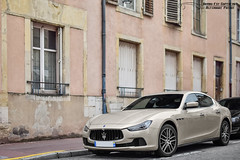 Maserati Ghibli (Alexandre Prvot) Tags: european cars automotive automobile exotics exotic supercars supercar worldcars nancy lorraine france 54 54000 auto car berline sport voiture route transport dplacement parking luxe grandestsupercars ges meurtheetmoselle