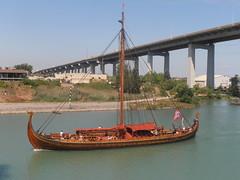 Draken Harald Hrfagre (logan007) Tags: drakenharaldhrfagre wellandcanal stcatharines canada bridge4 homerliftbridge