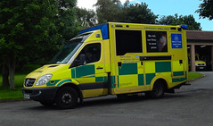 NK62DVN (Cobalt271) Tags: nk62dvn neas mercedes sprinter 516 cdi was bodied nhs emergency ambulance