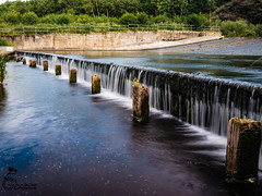River Derwent 3 (View From The Chair Photography) Tags: water river wier longexposure posts