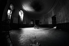 The wheelchair (OsDreams) Tags: abandoned amateur available urban urbanart urbandecay urbanexploration decay dark dramatic photo photoart photography lostplace