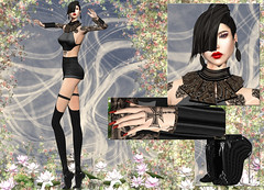Apple May Designs - Chantell (Rehana MiSS SLVietnam, Face of CHOP ZUEY 2015) Tags: secondlife fashion rehana rehanaseljan shinyshabby applemaydesigns chopzuey simplyme laboheme belleza boon carolg fetishfair azoury