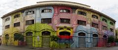Porto Fluviale - Roma (Marco_964) Tags: rome streetart colori face facce