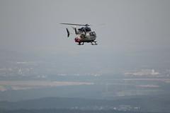 Rettungshubschrauber am Pferdskopf / Wasserkuppe 160814_118 (jimcnb) Tags: 2016 august wasserkuppe rhn hessen hubschrauber polizei helicopter dhheb