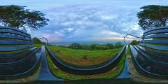 Wotton Hill (Matt Bigwood) Tags: wottonhill 360 vr landscape sunset clouds gloucestershire