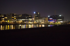 Hamburger HafenCity by Night (carsten.strate) Tags: city night river germany deutschland nacht hauptstadt hamburg citylights hafen fluss elbe hafencity habour