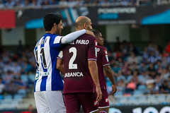 Spanish League _ Real Sociedad-Deportivo (josi unanue) Tags: football spain futbol sansebastian esp euskadi basquecountry paisvasco donostia anoeta unanue paysbasque guipuzcoa gipuzkoa