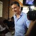 Mauricio Macri vota en en barrio de Palermo