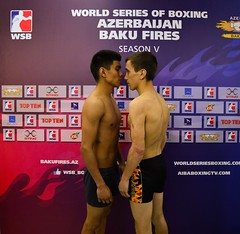 05/05/2015 Quarter Finals Weigh In Azerbaijan Baku Fires vs Mexico Guerreros Leg 1 (World Series Boxing) Tags: wsb playoffs boxing quarterfinals aiba seasonv worldseriesboxing azerbaijanbakufires mexicoguerreros