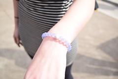 Lokai II (meerahpowell) Tags: sun sunshine fashion person beads nikon arm bright stripes sigma style jewelry bracelet accessories wrist sigmalens nikond3300 d3300